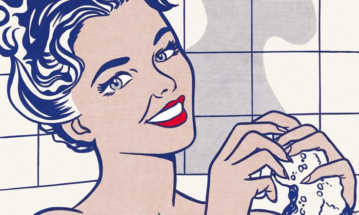 Roy Lichtenstein vystavuje nejen černobílý pop-art