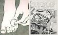 Výstava Roy Lichtenstein v galerii Albertina: Foot Medication a Bratatat!