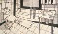 Výstava Roy Lichtenstein v galerii Albertina: Bathroom