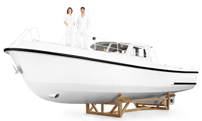 Studio Job navrhlo luxusní redesign lodi Firmship 42