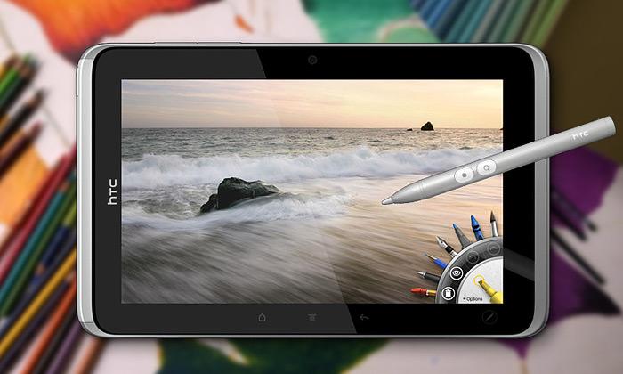 Na malý tablet HTC Flyer jemožné malovat tužkou