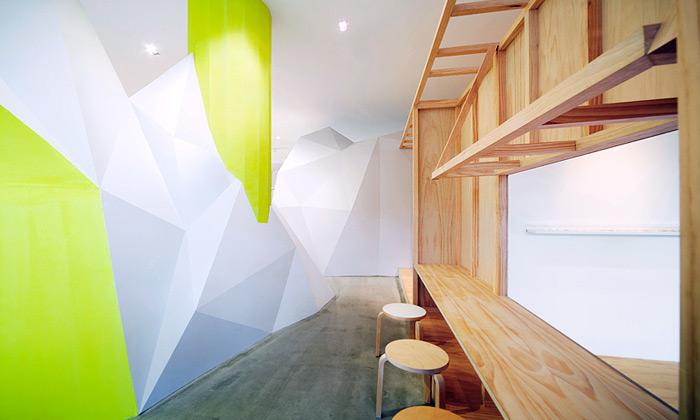 Yanagihara navrhl dva minimalistické salony krásy