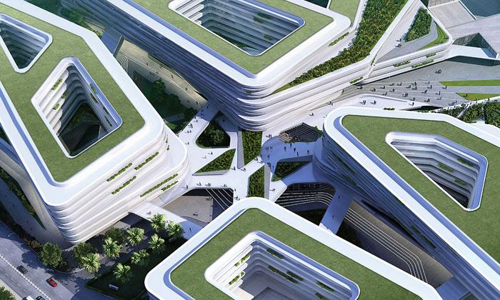 UNStudio postaví univerzitu designu vSingapuru
