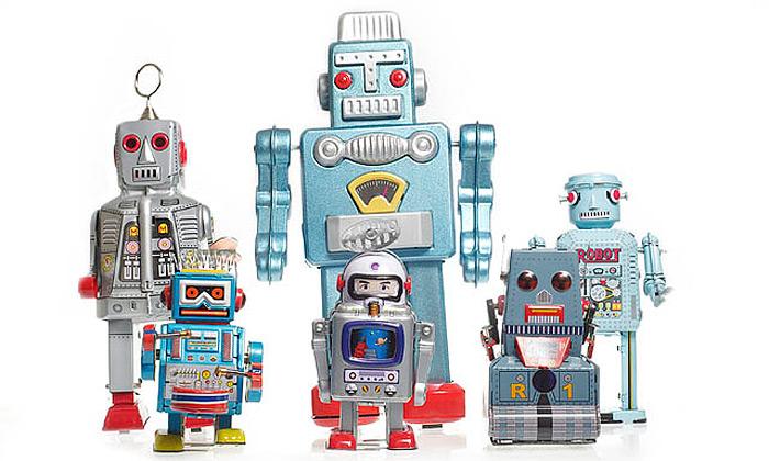Na Česko zaútočili japonští plechoví roboti Retrobo