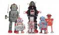 Japonští plechoví roboti Retrobo