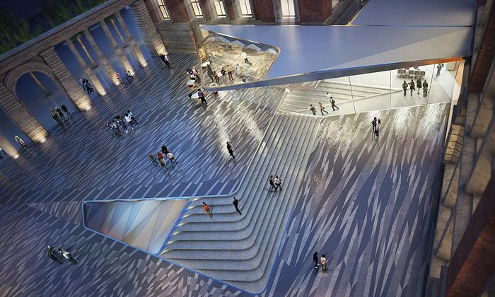 Amanda Levete postaví podzemní galerii pod V&A