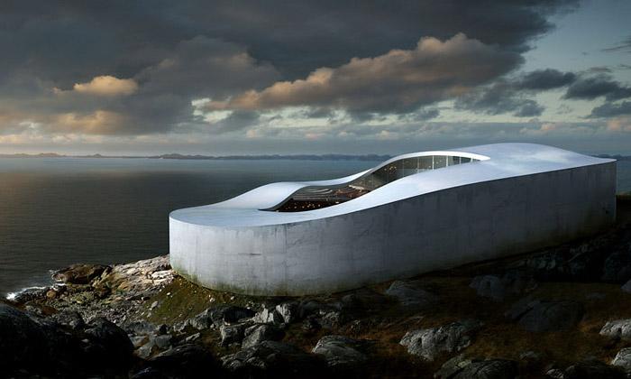 BIG staví vGrónsku muzeum tvaru tajícího ledovce