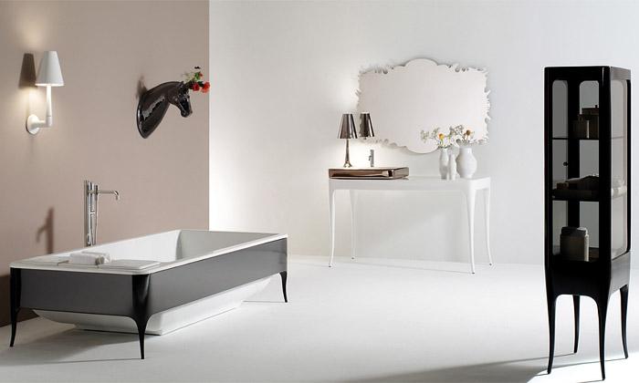 Jaime Hayón navrhl art deco koupelny pro Bisazza