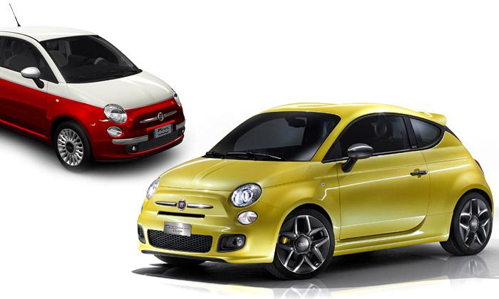 Fiat 500 přichází nově vdesignech Zagato aBicolore