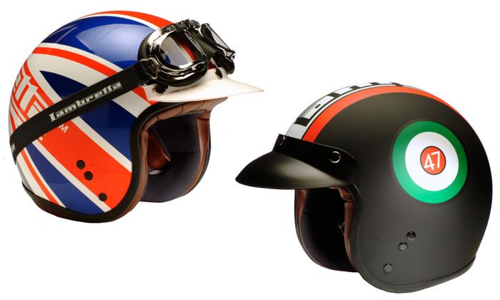 Heritage Helmets jsou přilby ke skútrům Lambretta