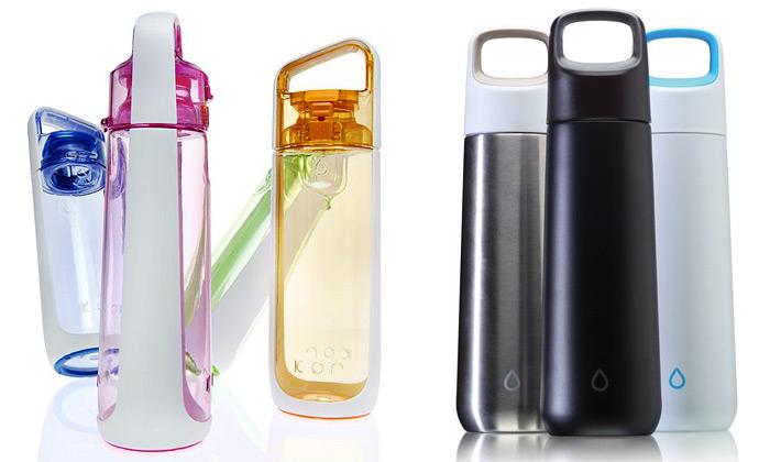 Láhve navodu Kor nabízí tři futuristické tvary