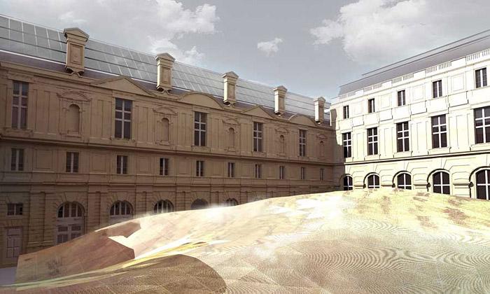 Louvre staví islámské křídlo tvaru létajícího koberce