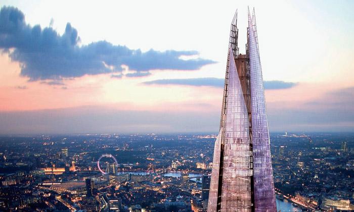 Londýnský mrakodrap Shard bude nejvyšší vEvropě