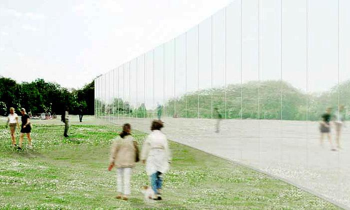 SANAA staví pobočku Louvre vefrancouzském Lens
