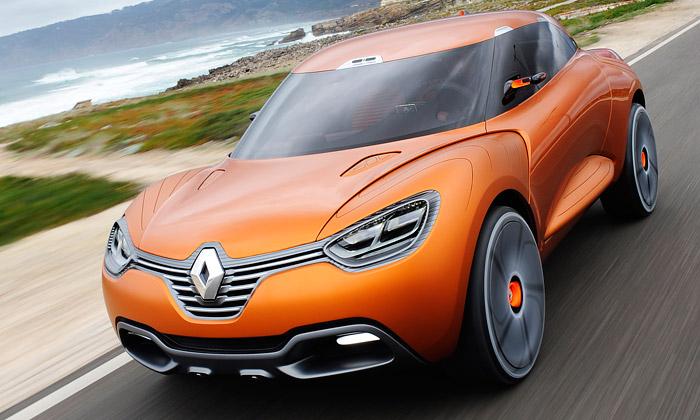 Renault Captur jeatletický crossover určen pro dva