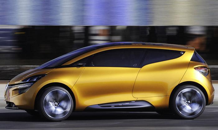 Renault R-Space má hravý interiér zdesítek kostek