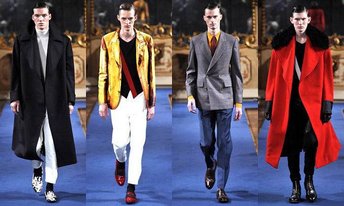 Sarah Burton navrhla pánskou kolekci pro McQueen