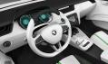 Interiér konceptu vozu Škoda Vision D