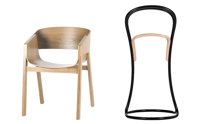 Ton má cenu Red Dot za židli Merano avěšák Petalo