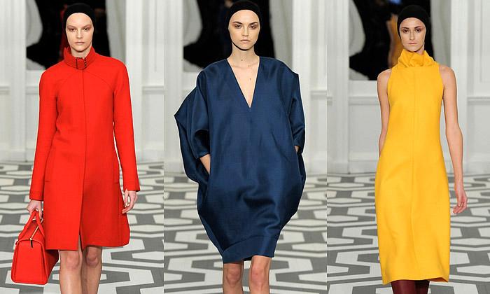 Victoria Beckham uvádí elegantní zimní kolekci šatů
