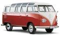 Legendární starý Volkswagen Transporter