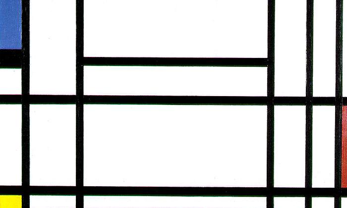 Mondrian aDe Stijl navýstavě vCentre Pompidou