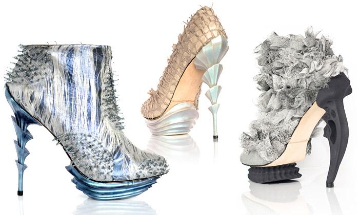 Anastasia Radevich navrhuje extravagantní bio boty