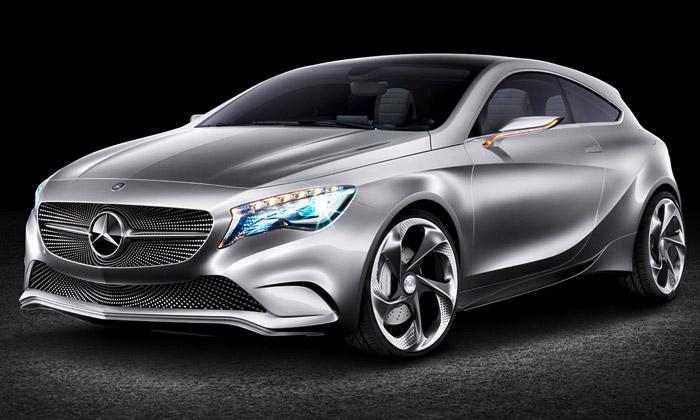 Mercedes-Benz odhalil koncept sportovního A-Class