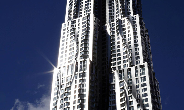 New York by Gehry jenejvětší obytná budova města