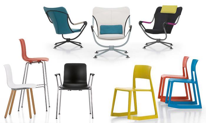 Vitra odhalila sedm nových modelů židlí akřesel