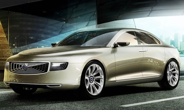 Volvo odhalilo futuristický sedan Concept Universe
