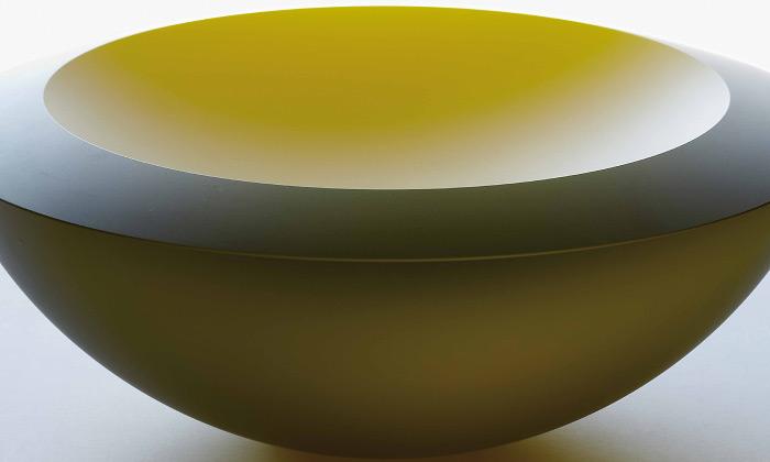 František Vízner vystavuje 75 skleněných objektů