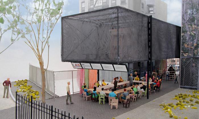 Mobilní laboratoř BMW Guggenheim Lab vylepší žití