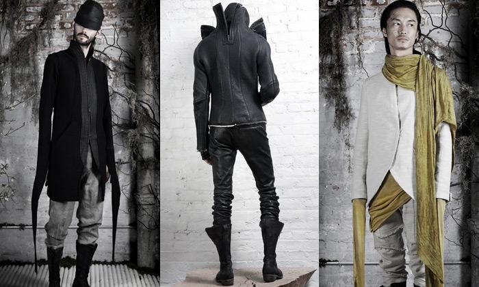 InAisce vytváří avantgardní chladné módní kolekce