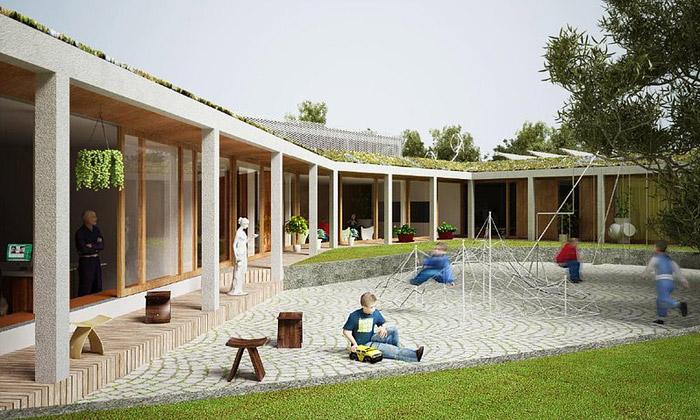 Knokke-Heist bude škola budoucnosti kus pod zemí