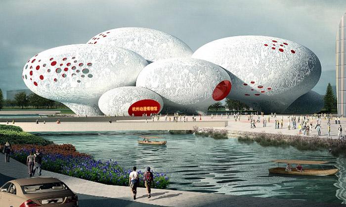 Čína postaví zbublin Muzeum komiksu aanimace