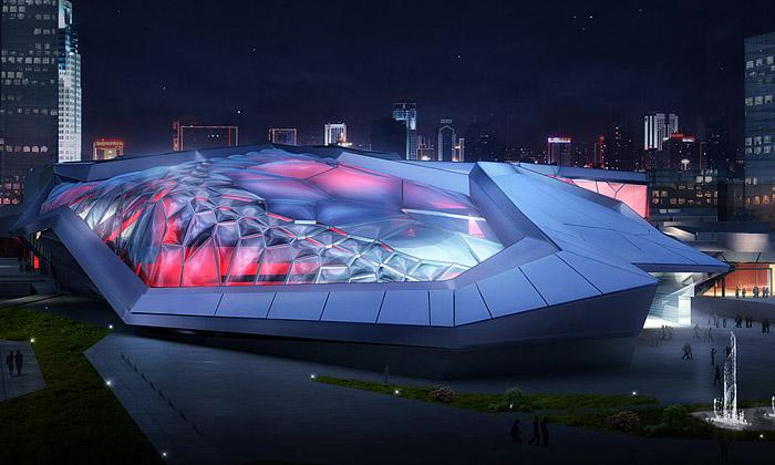 Čína staví kosmické sportovní centrum odEmergent