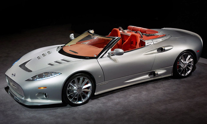 Luxusní Spyker C8 Aileron Spyder konečně vČesku