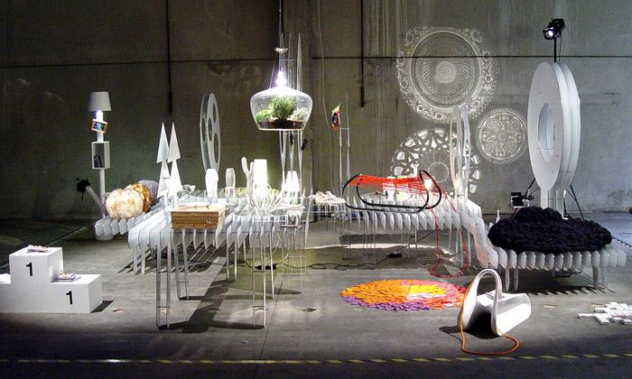 VŠUP ukázalo vMiláně produktovou expozici Touha