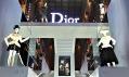 Pohled navýstavu Inspiration Dior vPuškinově muzeu vMoskvě