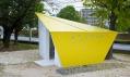 Origami veřejné záchodky Absolute Arrows vHirošimě odFuture Studio