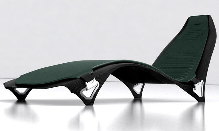 Aston Martin přichází skarbonovou kolekcí nábytku