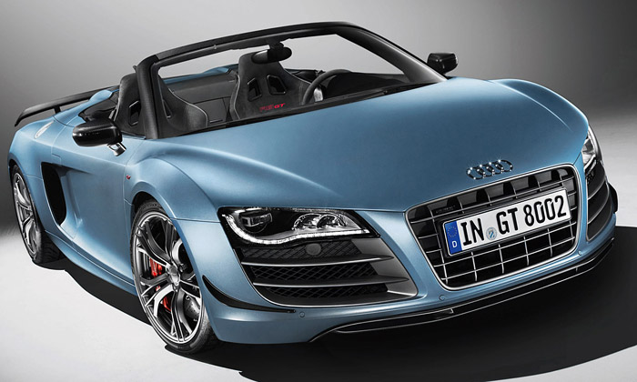 Audi představilo letní supersport R8 GT Spyder