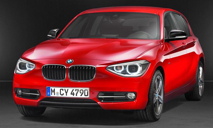 BMW zmodernizovalo malý sportovní vůz BMW 1