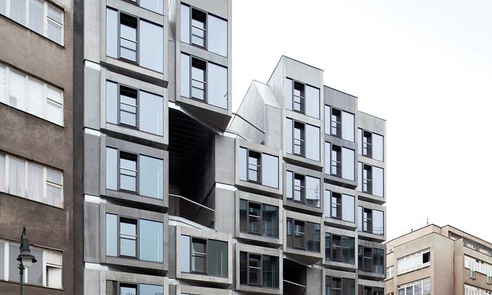 Petrské náměstí má nový bytový dům odstudia DaM