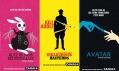 Filmové plakáty natelevizní premiéry francouzské televize Canal+
