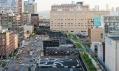 Druhá část parku High Line v New Yorku na Manhattanu