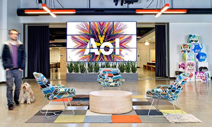 AOL má nové veselé kanceláře podporující nápady