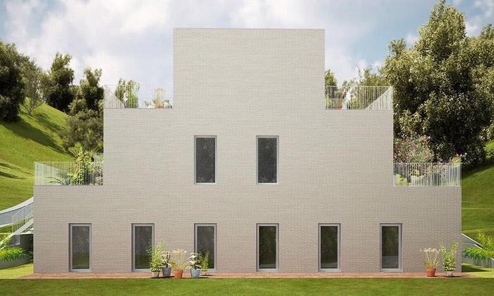 NL Architects staví domy stvary ze Space Invaders