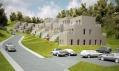 Vítězný návrh dům Space Invader ve městě Gapyong od NL Architects